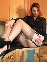 seams on show in the kitchen