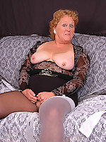 Fanny's Frolics - sexy mature amateur