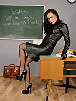 Alina Heels - Sexy Long Legs in FFStockings, Pantyhose, High Heels and Boots